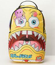 Sprayground x Spongebob Squarepants Japanime Yellow School Laptop Backpack Bag