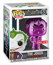Funko Pop! Games: Batman: Arkham Asylum - The Joker (Purple) (Chrome) Vinyl...