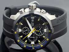 Casio Men's EFM-502-1AVCF Edifice Black Stainles Steel chronograph 200m WR Watch