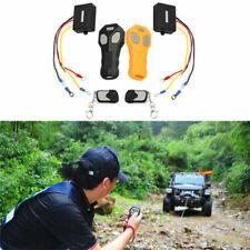 Car Vehicle Winch Wireless Remote Control KeyFob Transmitter Receiver Kit -Black