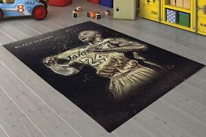 Kobe Bryant Black Mamba Carpet Non Slip Floor Carpet,Area Rug,Teen Carpet