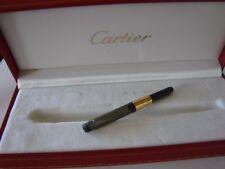 BOITE BOX SCATOLA ETUI STYLO PLUME CARTIER CO463 + RESERVOIR ENCRE CARTIER