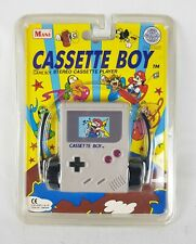 RARE Sealed Nintendo CASSETTE BOY Stereo Player Mario GameBoy Retro NIB GB 1993