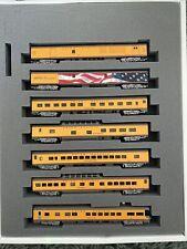 N Scale Union Pacific UP Excursion Passenger Train 7 Car Set N Scale Kato 106086