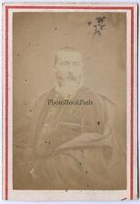 Alphonse karr Carte de visite par Nadar Paris Vintage albumine ca 1860