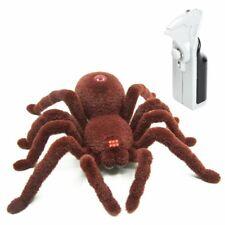 Latburg Remote Control Spider Fright Props Prank Fake Spider Robot Games for Jok
