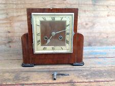 Antique German Kienzle Foreign Mantle Clock w/Key