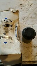 Rees 00433-001 Push Button Cylinder. Black Plastic