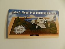 Danbury Mint JOHN C MEYER P-51 MUSTANG DIORAMA Brochure Pamphlet Mailer