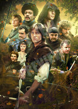 Robin Of Sherwood - Michael Praed  Jason Connery Poster A3