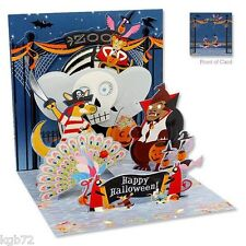 Halloween at the Zoo Pop Up Greeting Card by Up With Paper Treasures # PS-902