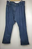RENE TAYLOR Sz 18/42 Straight leg Jeans Dark blue