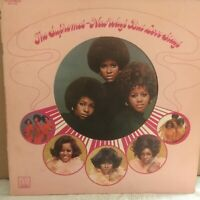 THE  SUPREMES       LP      NEW WAYS  BUT  LOVE  STAYS