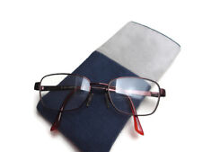 Soft case reading glasses, spectacle pouch,sun glasses case. Mans glasses wallet