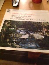 Grieg Piano Concerto/ Gina Bachauer, George Weldon Vinyl LP NM/VG