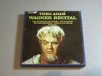 Theo Adam- Wagner Recital- Reel To Reel Tape 4 Track 7 1/2 IPS London LOL 90155