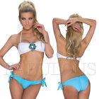 Sexy Padded Bikini Set Beachwear Swimwear Bathing Suit Size 6 8 10 12 XS S M L
