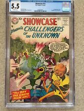 SHOWCASE #11 CGC FN- 5.5; OW; 3rd Challengers by Kirby (11-12/57)!
