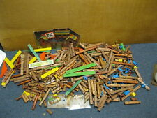VINTAGE HUGE LOT OF LINCOLN LOGS Homestead Instructions People