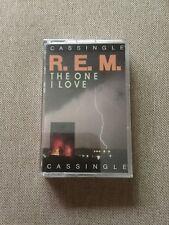 "R.E.M. – ""The One I Love"" (1987) Rare Cassette Tape Single - Factory Sealed"
