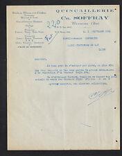 """MEXIMIEUX (01) QUINCAILLERIE FERBLANTERIE """"Ch. SOFFRAY"""" en 1950"""
