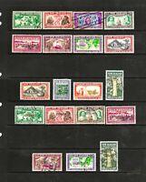 New Zealand 1940 Centennials & Centennial Officials, Set of 19 Stamps, U