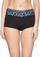 TYR Women's Carnivale Della Boyshort Bottom Swimwear Size M