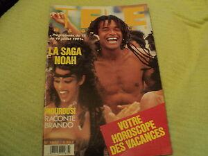 """""""TELE MAGAZINE N°1862 - 1991"""" Yannick NOAH, Pierre MALET, Enzo Enzo"""