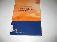 Studienarbeiten interaktiv von Alfred Huber (2005)