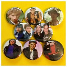 THE COREYS 1in buttons badges COREY HAIM COREY FELDMAN