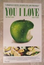 You I Love movie poster   - 11 x 17 inches - original mini poster