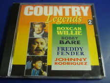 Country Legends BOXCAR WILLIE BOBBY BARE FREDDY FENDER