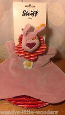 Steiff Baby Safe Dog 28cm  Dusky Pink Rose EAN 234668 Comfort Blanket No2