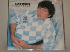 Mac Davis Soft Talk 1984 Casablanca # 818 131-1 M-1 Sealed LP No Cutouts