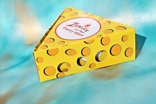 Zanies Cat Toys Furry Mice Slice of Cheese Display Empty Cat Toy Box