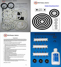 1992 Gottlieb/Premier Cue Ball Wizard Tune-up Kit - Includes Rubber Ring Kit