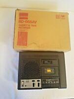 Vintage Sharp Portable Cassette Player Recorder Educator. Model RD-665AV  parts