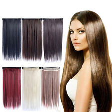 Clip In Long Straight Wavy Curly Five Clips Hair Extensions Synthetic Gift.AU