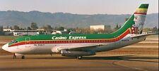B-737 Boeing Casino Express Elko Nevada Airplane Desk Wood Model Big