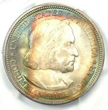 1892 Columbian Half Dollar 50C - PCGS MS66+ Plus Grade, Rainbow - $1,300 Value!