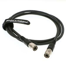 Hirose 12Pin hembra a macho cable E//S Para Cámaras Ccd Hitachi Sony cargado