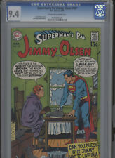 SUPERMANS PAL JIMMY OLSEN #127 NM 9.4 CGC DORFMAN STORIES SWAN COVER AND ART
