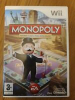 Monopoly (Nintendo Wii, 2008) Game - Excellent Condition