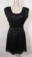 J Crew Women's Sequin Black Sleeveless Dress Size 2 $198