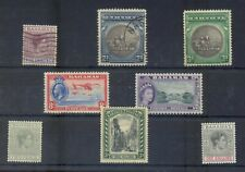 Bahamas. 8 stamps. FU or mint hinged