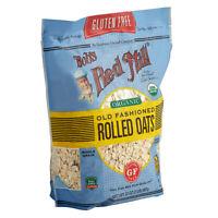 Bob's Red Mill 32 oz. Organic Gluten Free Whole Grain Rolled Oats
