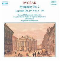 NEW Dvorak: Symphony No. 2 / Legends Op. 59, Nos. 6 - 10 (Audio CD)