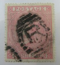 Scarce Great Britain SC #90a QUEEN VICTORIA on white paper used stamp