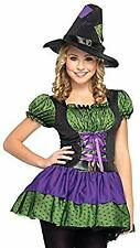 NWOT HOCUS POCUS WITCH GIRL YOUNG ADULT HALLOWEEN COSTUME BY LEG AVENUE -Jr. S/M