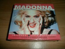MADONNA - THE COMPLETE (RARE SEALED 3 CD INTERVIEW BOX SET + 5 FREE POSTCARDS)